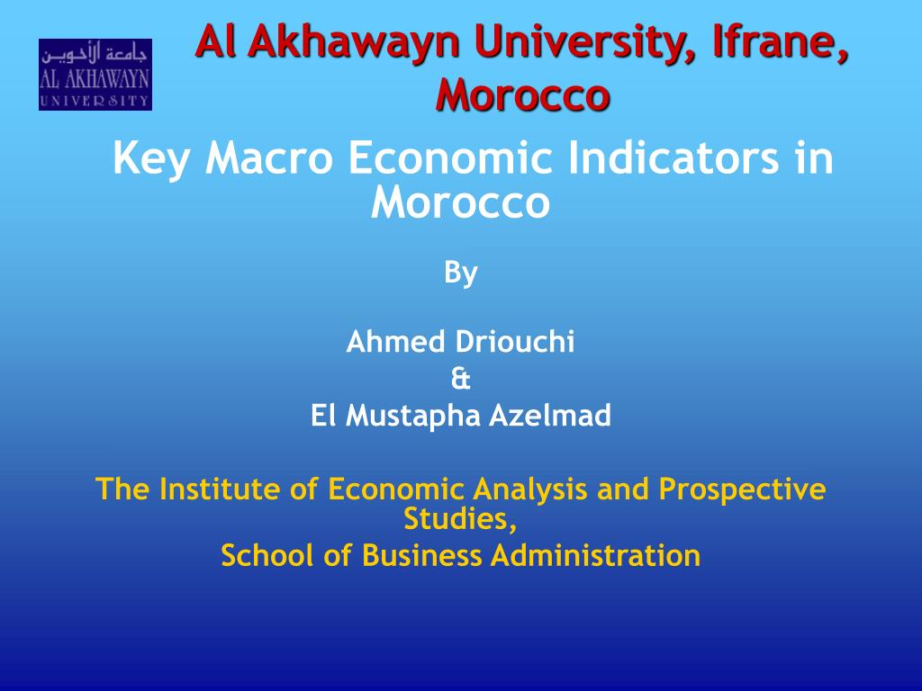 al akhawayn university ifrane morocco l.