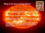 what is the story of king rama