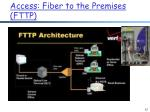 access fiber to the premises fttp2