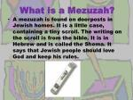 what is a mezuzah