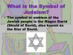 what is the symbol of judaism