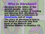 who is abraham