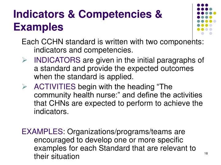 canadian community health nursing standards of practice pdf