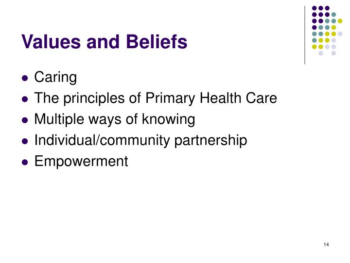 principles of primary health care Primary health care provides these services impartially to all, advocating maintenance of good health once it is achieved the principles of wellness highlight the importance of taking self-responsibility for health and initiating positive and active approaches to healthcare, a difficult process for depression sufferers.