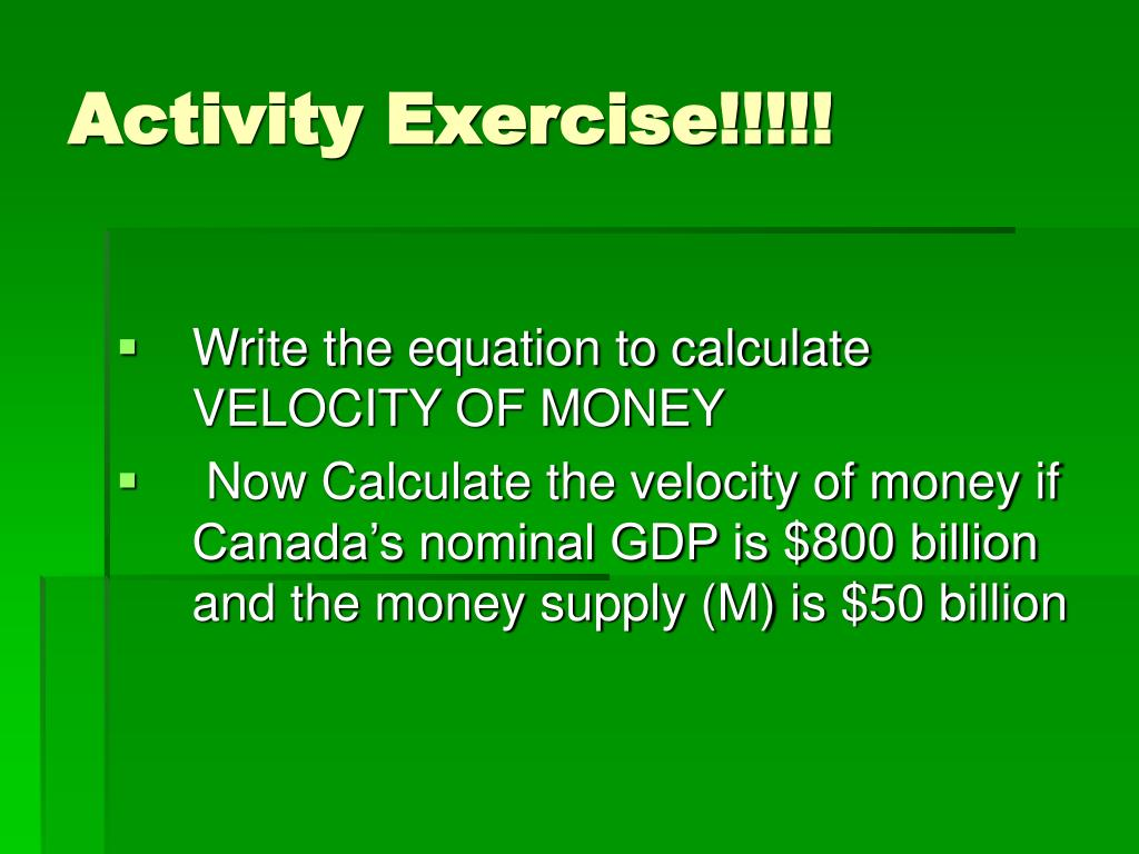 Activity Exercise!!!!!