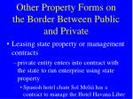 other property forms on the border between public and private