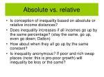 absolute vs relative