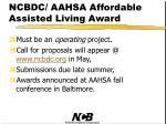 ncbdc aahsa affordable assisted living award5