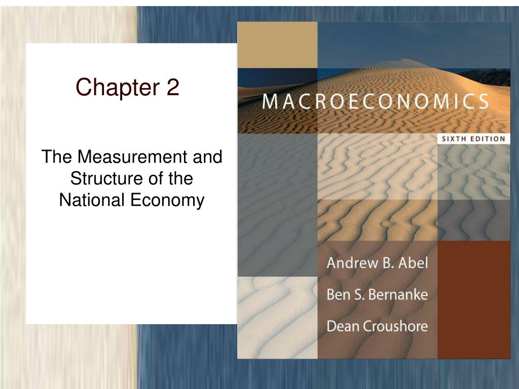 the measurement and structure of the national economy l.