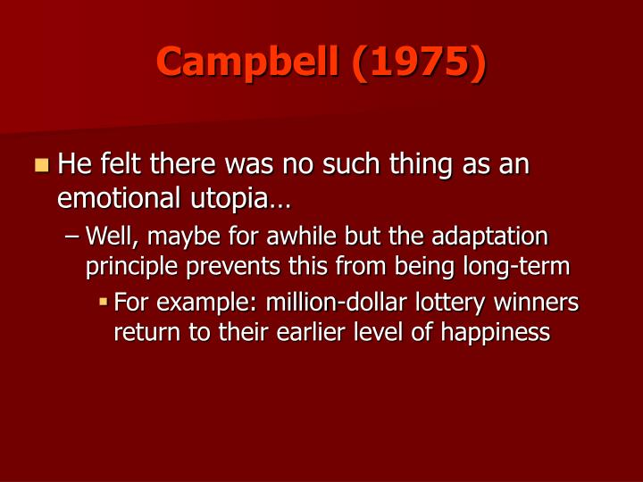 Campbell (1975)