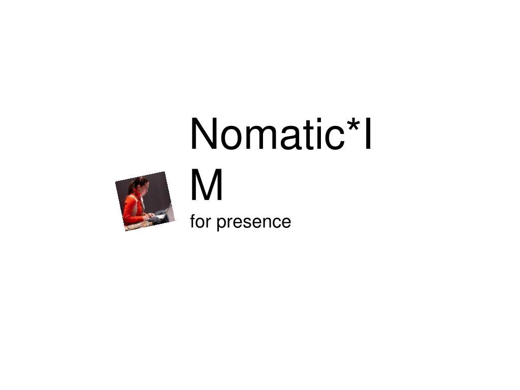 nomatic im l.
