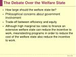 the debate over the welfare state