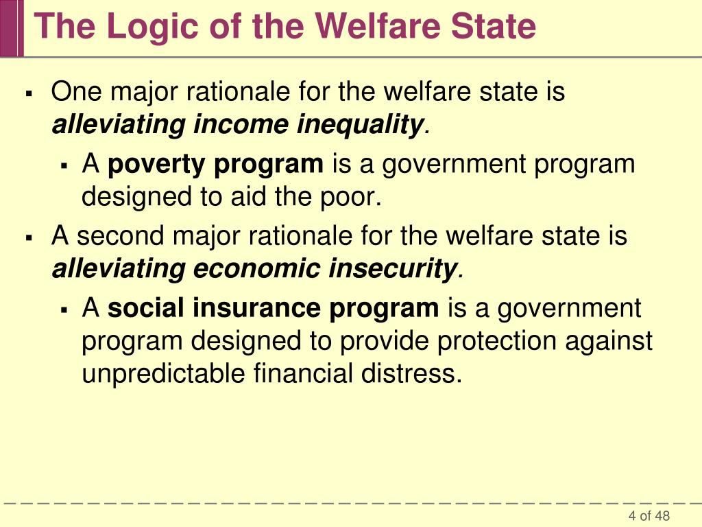 the welfare is a program designed to aid poor and needy families