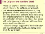 the logic of the welfare state5