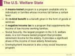 the u s welfare state25