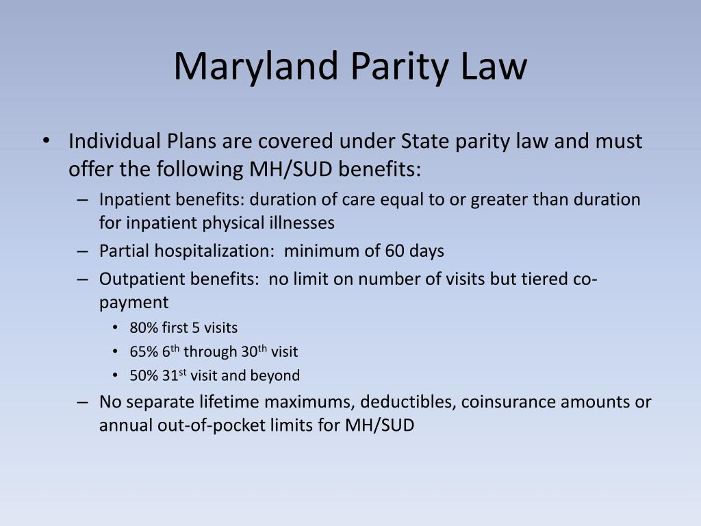 PPT - Mental Health and Addiction Coverage in Private and ...