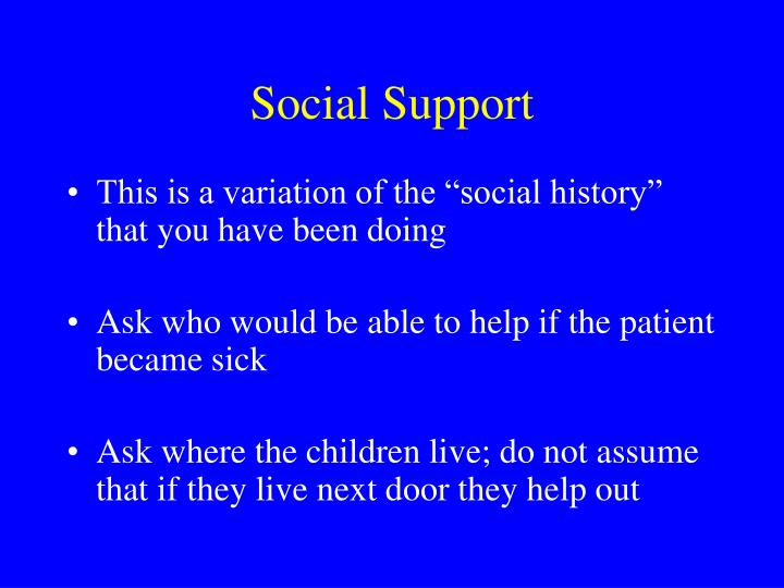 social support system Social support is there a smoker in your life who you are hoping will quit the first thing to remember is that you cannot make someone quit.