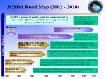 jcsda road map 2002 2010