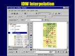 idw interpolation