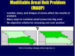 modifiable areal unit problem maup