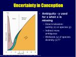 uncertainty in conception34