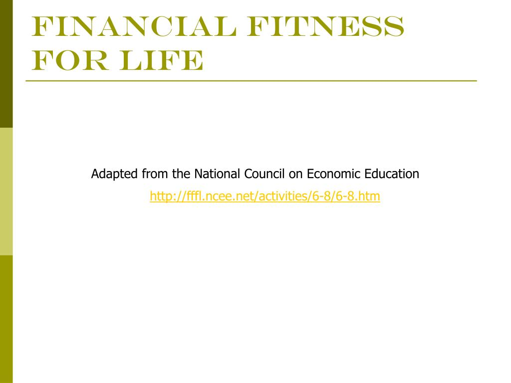 financial fitness for life l.