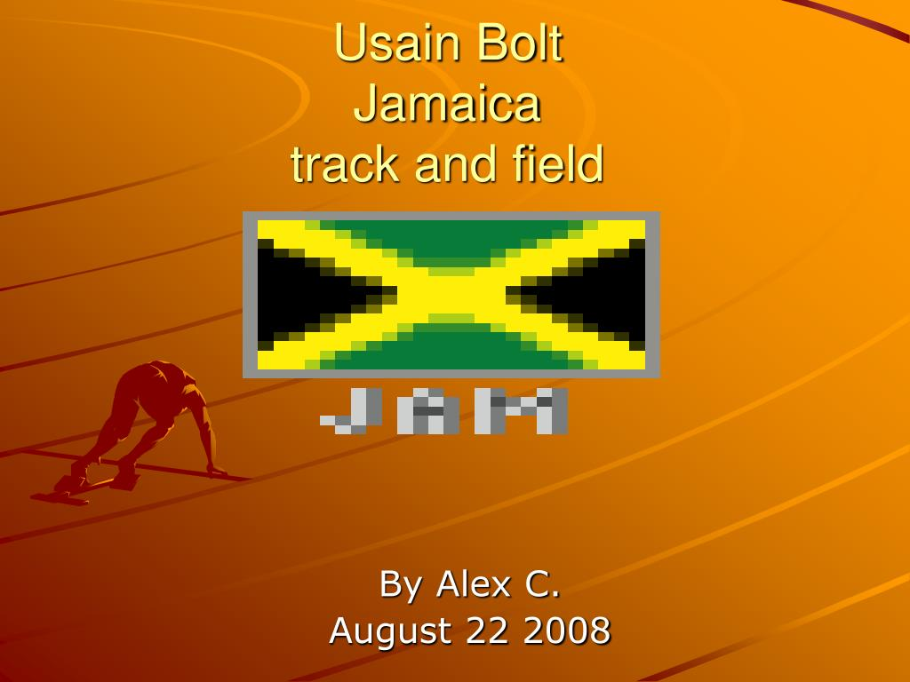 usain bolt jamaica track and field l.