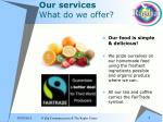 our services what do we offer8