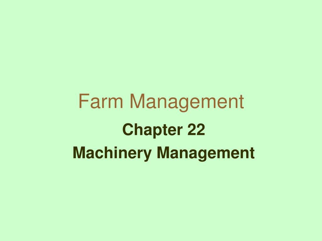 farm management l.