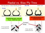 radial vs bias ply tires