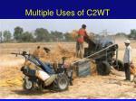 multiple uses of c2wt31