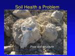 soil health a problem