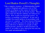 lord baden powell s thoughts25