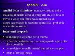 esempi 2 bis