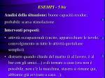 esempi 5 bis