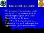 educational legislation14