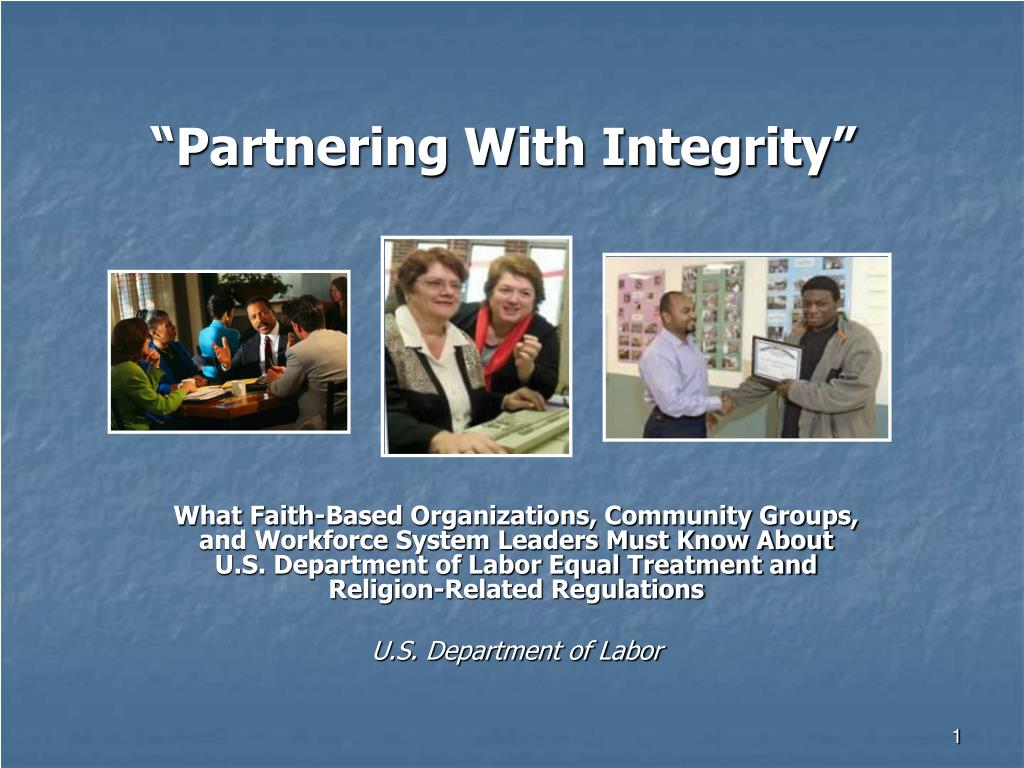 partnering with integrity l.