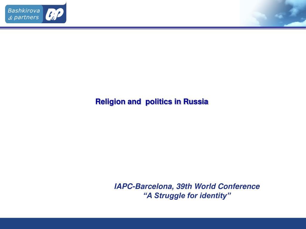 religion and politics in russia l.