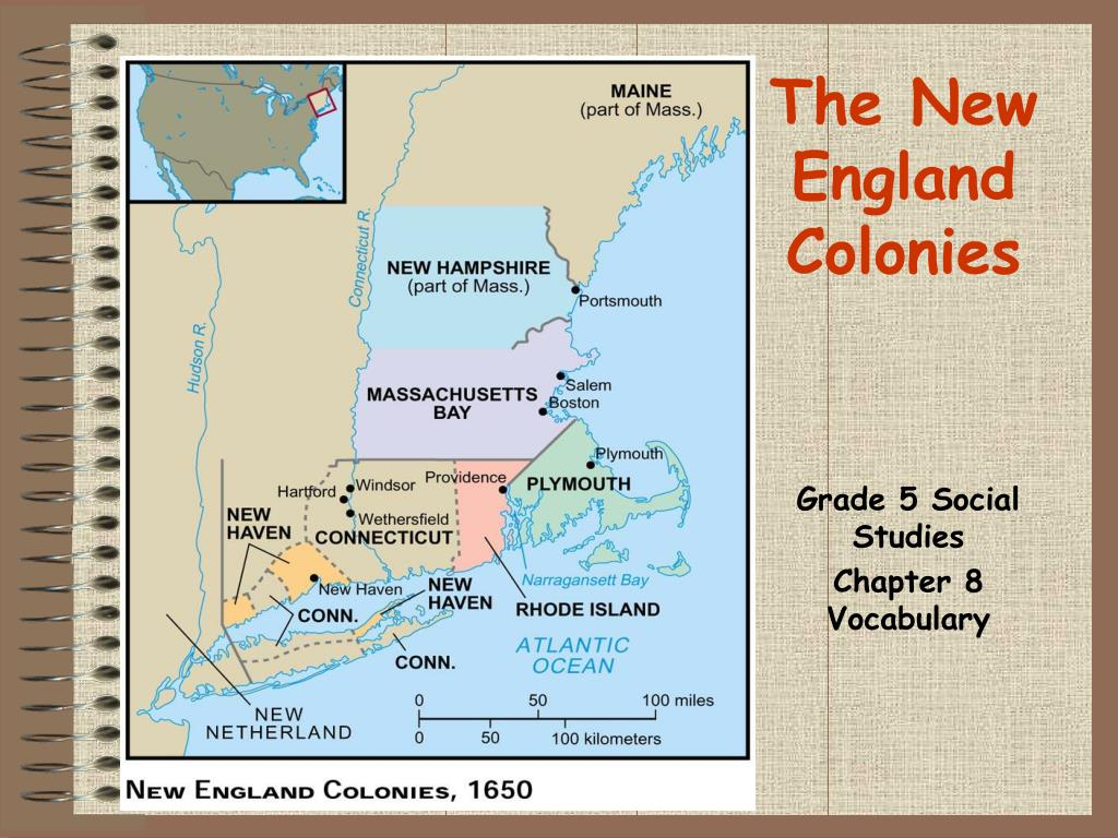 the new england colonies l.