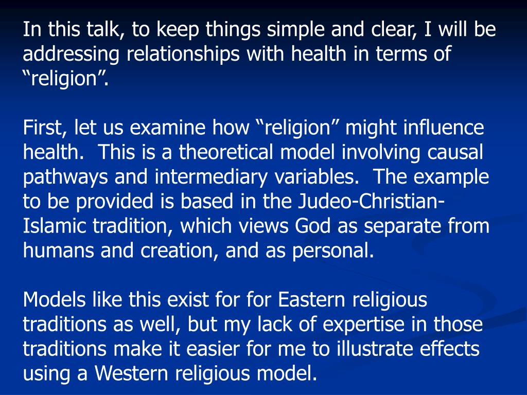 the judeo christian and islam religions Judeo–christian (sometimes written diverging views between the two religions to common elements in christianity and islam judeo-christo-islamic — a term.