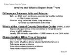 inmates and what to expect from them