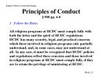 principles of conduct j 900 pp 6 8