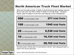 north american truck fleet market