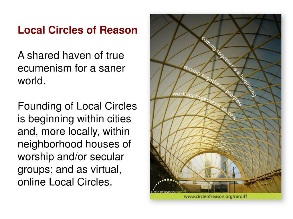 Local Circles of Reason