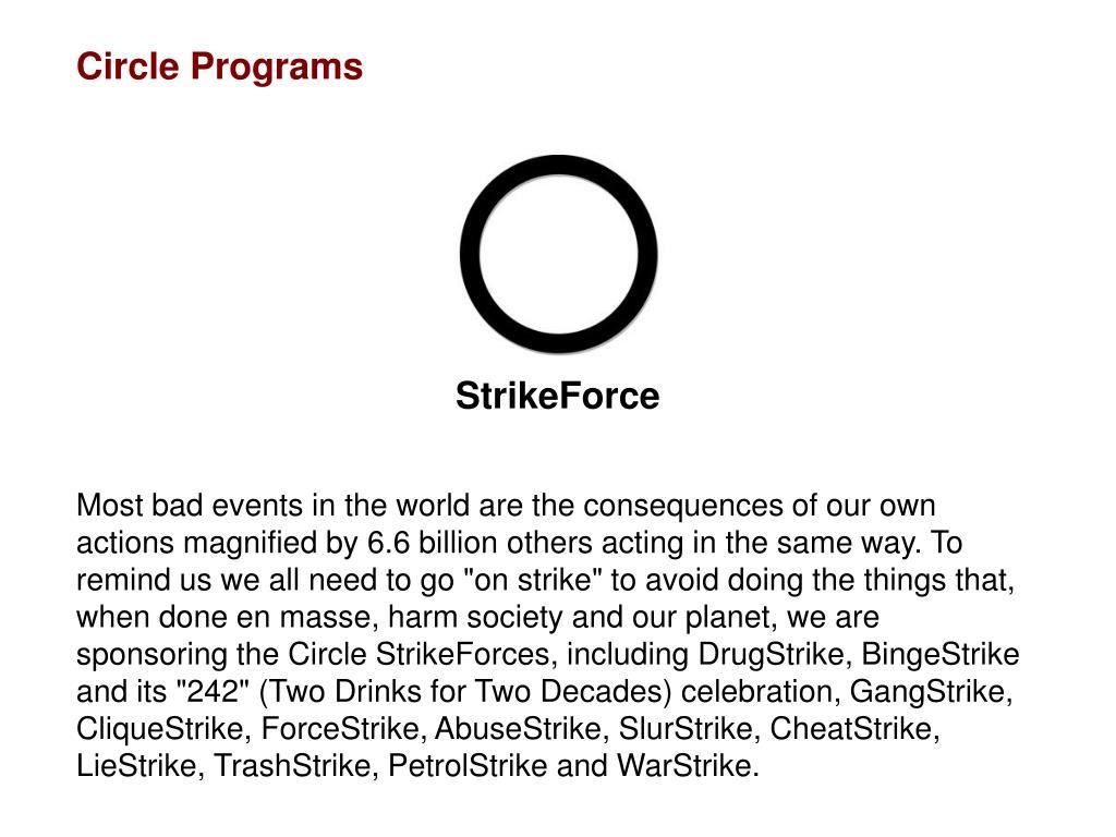 Circle Programs