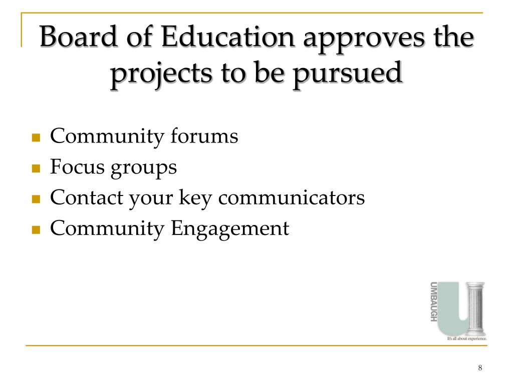 Board of Education approves the