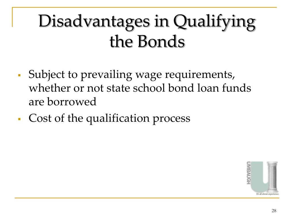 Disadvantages in Qualifying