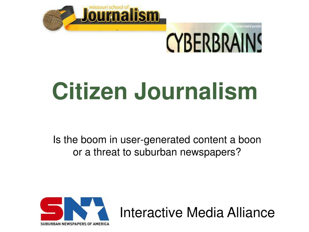 citizen journalism l.