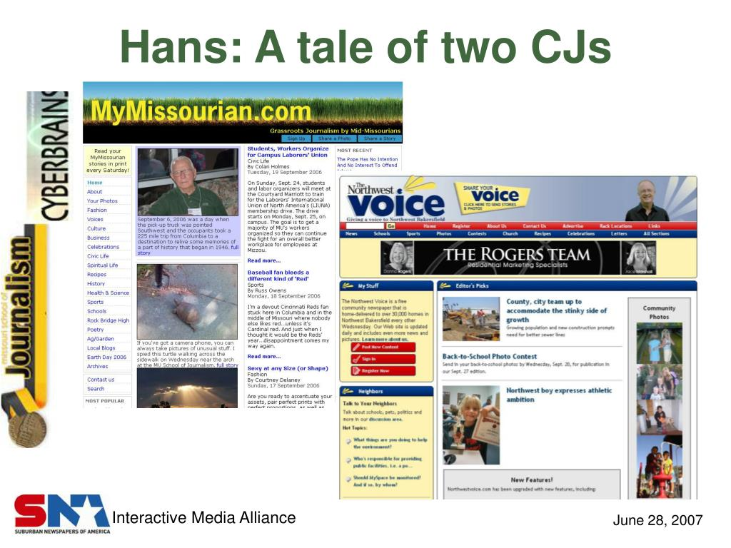 Hans: A tale of two CJs