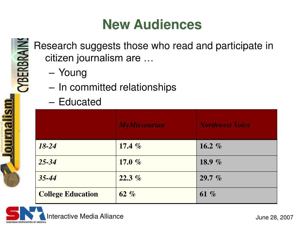 New Audiences